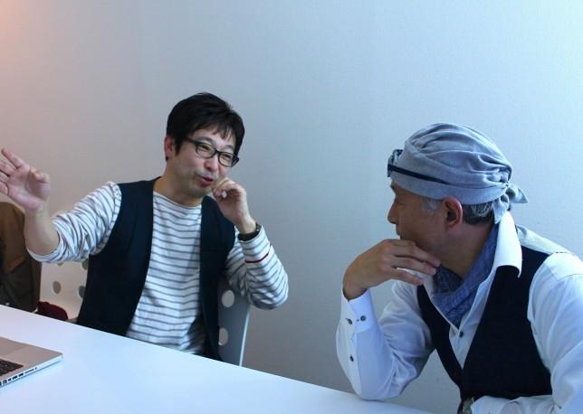 ループス代表斉藤と伝説のリーダー浅井浩一氏